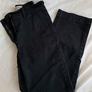 Everlane Straight Leg Crop - Black